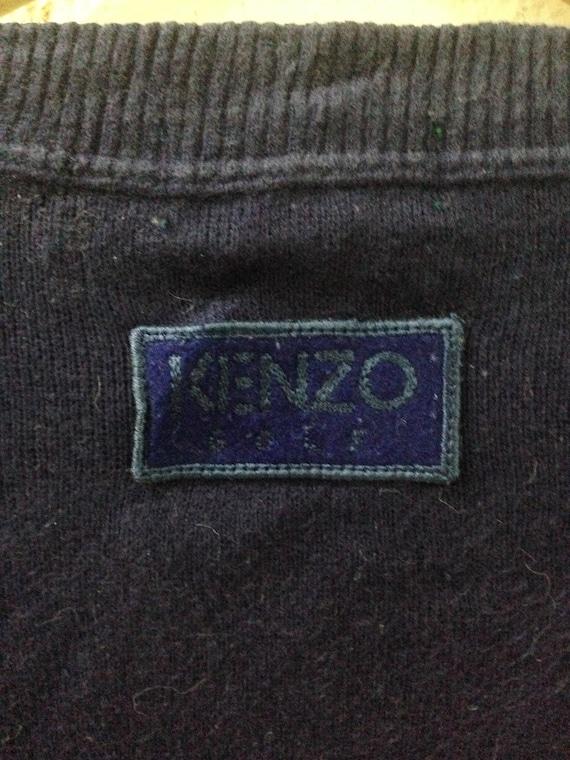 On sale!!! vintage 90s kenzo sweatshirt / kenzo M… - image 4