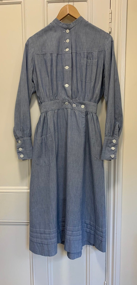 1940s Finish/Swedish!? Nurse Worker Uniform Dress