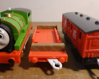 Electric Percy Train With A Special Mail Car; And One Other, Thomas And Friends