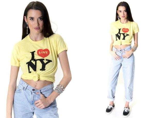 Vintage 70s The Original I Love NY 50 50 T-Shirt