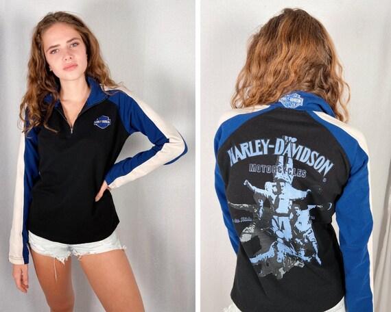 Vintage 90's Harley Quarter Zip