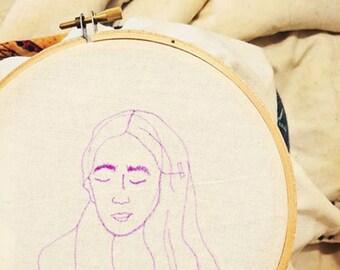 Custom 5in x 5in Hoop Embroidery