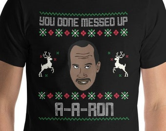 more colors limited time 10 sale ya done messed up a a ron funny comedy show ugly sweater