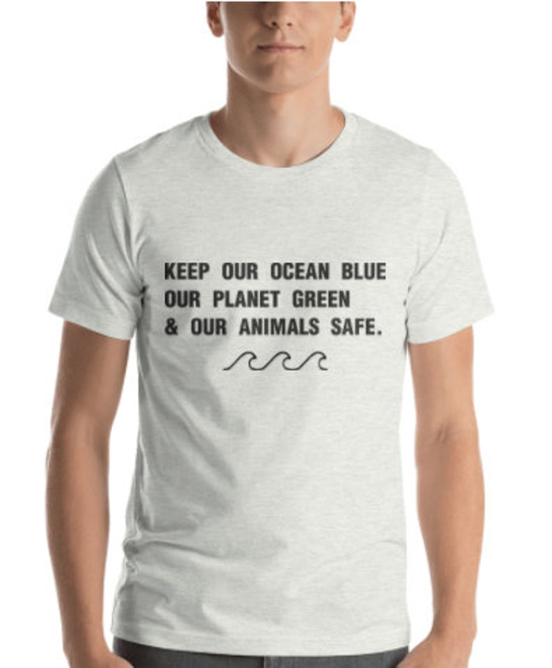 1f08b2c13 Keep Our Ocean Blue Our Planet Green and our Animals Safe | Etsy