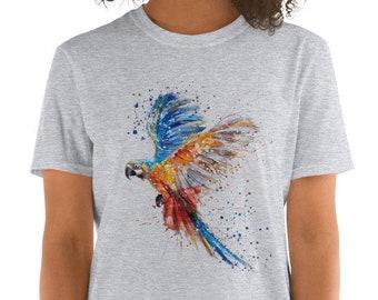 1f7a1d9d Colorful Parrots tshirt Bird Shirt Bird Nerd T-Shirt Fathers Day Men Women  Pet Birdwatcher Watcher Enthusiast Birder Printing Birds Shirt