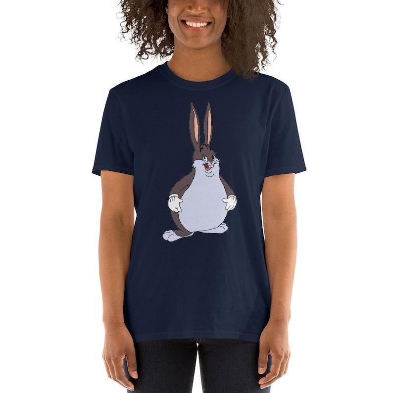Big Chungus Funny Meme Shirt Big Chungus Tshirt Big Chungus Etsy