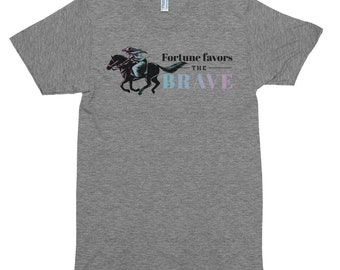 Fortune Favors the Brave Short sleeve soft track shirt