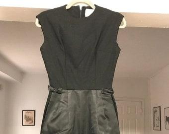 efc14e4ade5c Black vintage 1962 Eloise Curtis dress