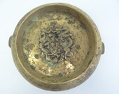 Bronze Xuande Dragon Signed Chinese Censer Mystery Old Dynasty Ceremonial Bowl