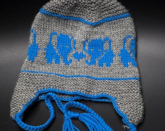 Toddler knit hat /hat for Boys/