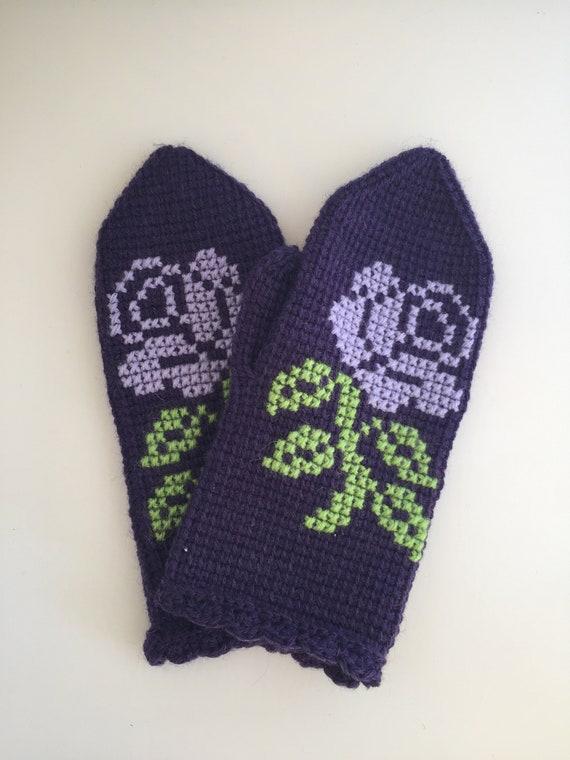häkeln Sie häkeln Handschuhe Fäustlinge | Etsy