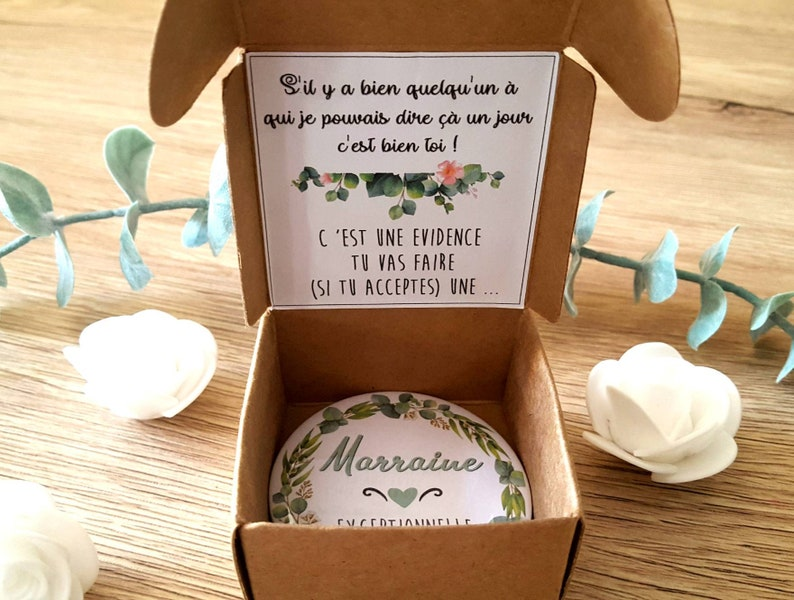 Gift Request Godmother Idee request godmother gift mirror godmother mirror pocket godmother  request godmother  announcement godmother