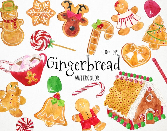 Christmas Cookies Clipart Gingerbread