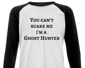 ce018102 Unisex Baseball T-shirt Ghost Hunting Tshirt, Ghost Hunting, Occult,  Paranormal Gift, Ghost Hunting Gift, Witchy Clothing
