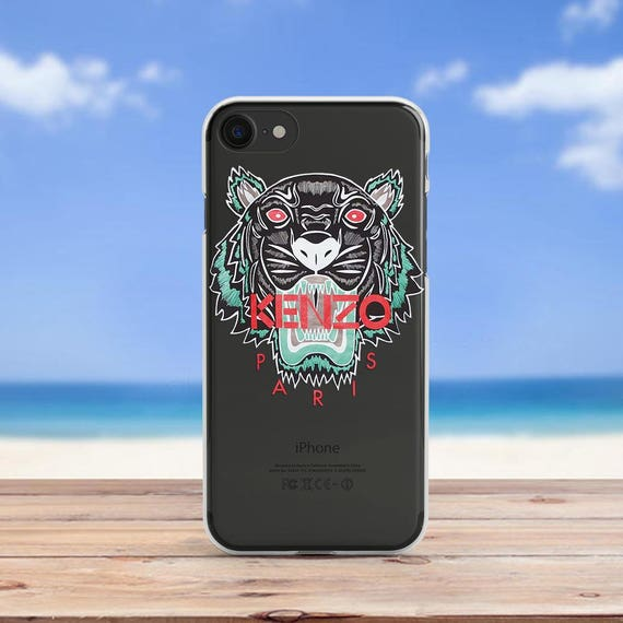 Kenzo coque coque Iphone 6 Iphone X housse Iphone 8 cas Iphone   Etsy e888a80f534