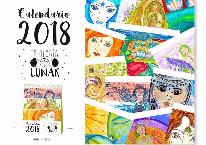 Calendario Illustrato.Calendario Illustrato Di 2018