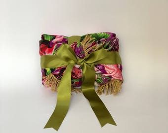 Flamingos reusable fabric gift wrapping - S/M/L
