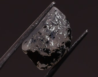 Real Natural Blue Flashy Raw Rainbow Moonstone Rough - Raw Crystals and Stones SA256
