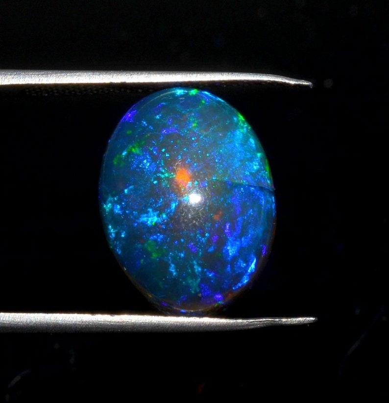 FIRE OPAL GEMSTONE,Oval shape fire opal  12x17mm weight 6 carat  cabochon jewelry making gemstone Y6