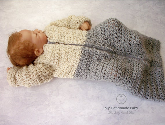 Baby Sleep Sack Crochet Pattern Baby Sleeping Bag Crochet Pattern Baby Cocoon Crochet Pattern Baby Carrying Baby Crochet Pattern
