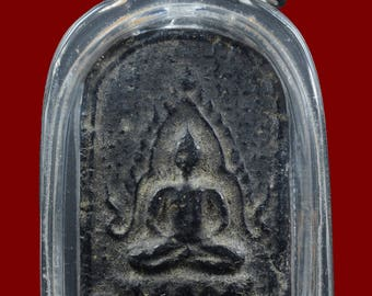 Certificate of Authenticity by DD-PRA Year 1932 Antique Buddha Chinnarat BE.2475 Wat Sam Pluem