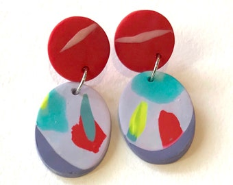 Wearable art earrings