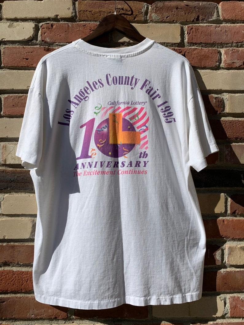 Vintage 90's california lotto t-shirt size XL
