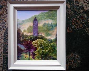 Land of Saints and Scholars. Glendalough, County Wicklow, Ireland.