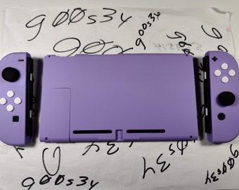 New Nintendo Switch Custom Soft Touch Lavender Styled Joy