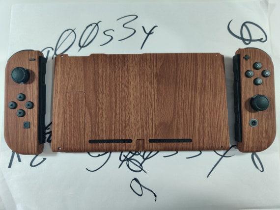 New Nintendo Switch Custom Wood Grain Styled Joycons and | Etsy