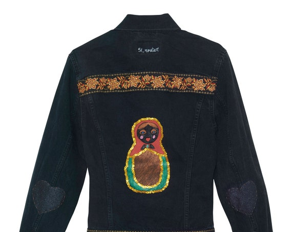 The Russian woman jacket