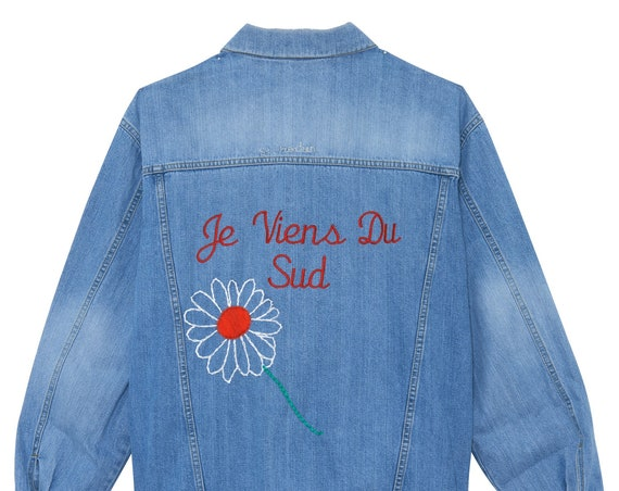 Available on order jacket woman I Come From (personalization with the location of your choice)
