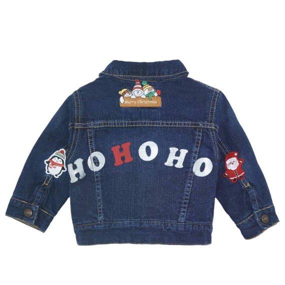 Baby Winter Greetings jacket