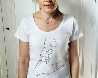 T-shirt woman Silhouette