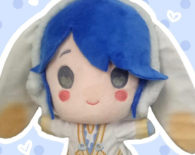 Fire Emblem Heroes Inspired Spring Bunny Alfonse Plush