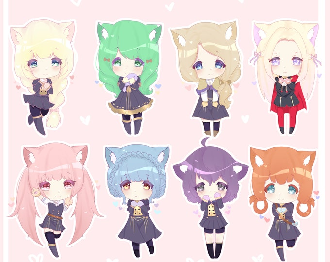 Pre-Order Fire Emblem Three Houses Glitter Acrylic Charm