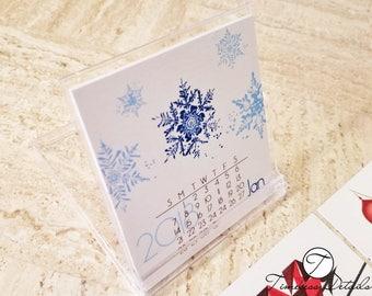 Cute Mini Desk Calendar 2018