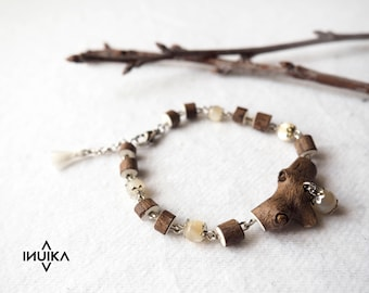 "Natural ""White Pearl"" bracelet"