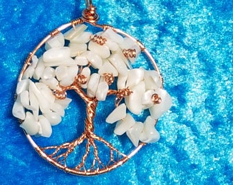 Chain Tree of life ' White Blossom '