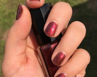 Vampire Kiss- Homemade Indie Nail Polish