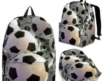 Soccer Balls Galore Backpacks for the Whole Family - Soccer Moms, Soccer Dads, Team Backpack, ALL Fans