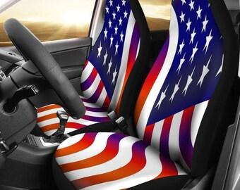 American Flag Patriotic Car & SUV Seat Covers