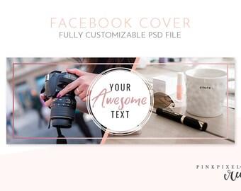 Facebook Cover Template, facebook timeline, facebook cover, facebook cover photo, facebook banner, fb photo cover, facebook marketing, FB1