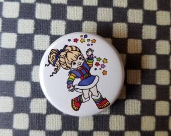 Rainbow Brite button