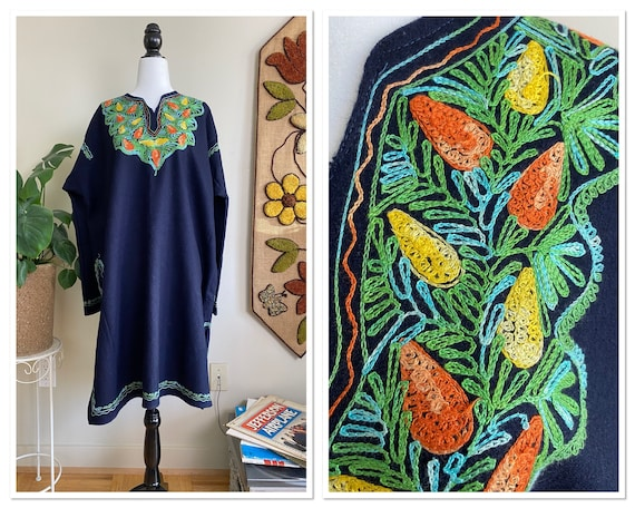 1960s/1970s Embroidered Wool Tunic