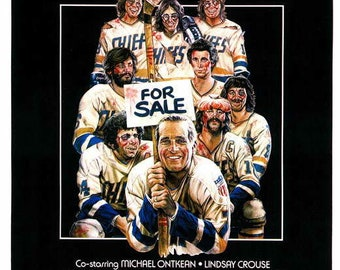 1ce588c59cf Slap Shot (1977) 11 x 17 movie poster Paul Newman sports comedy Michael  Ontkean hockey team Strother Martin violent play The Hanson Brothers