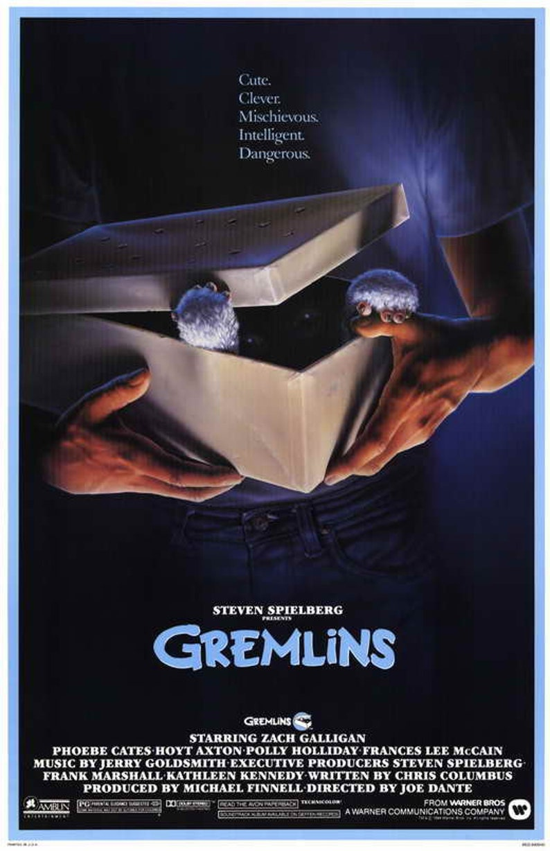 Gremlins 1984 Movie Poster 11 X 17 Joe Dante Comedy Horror Etsy