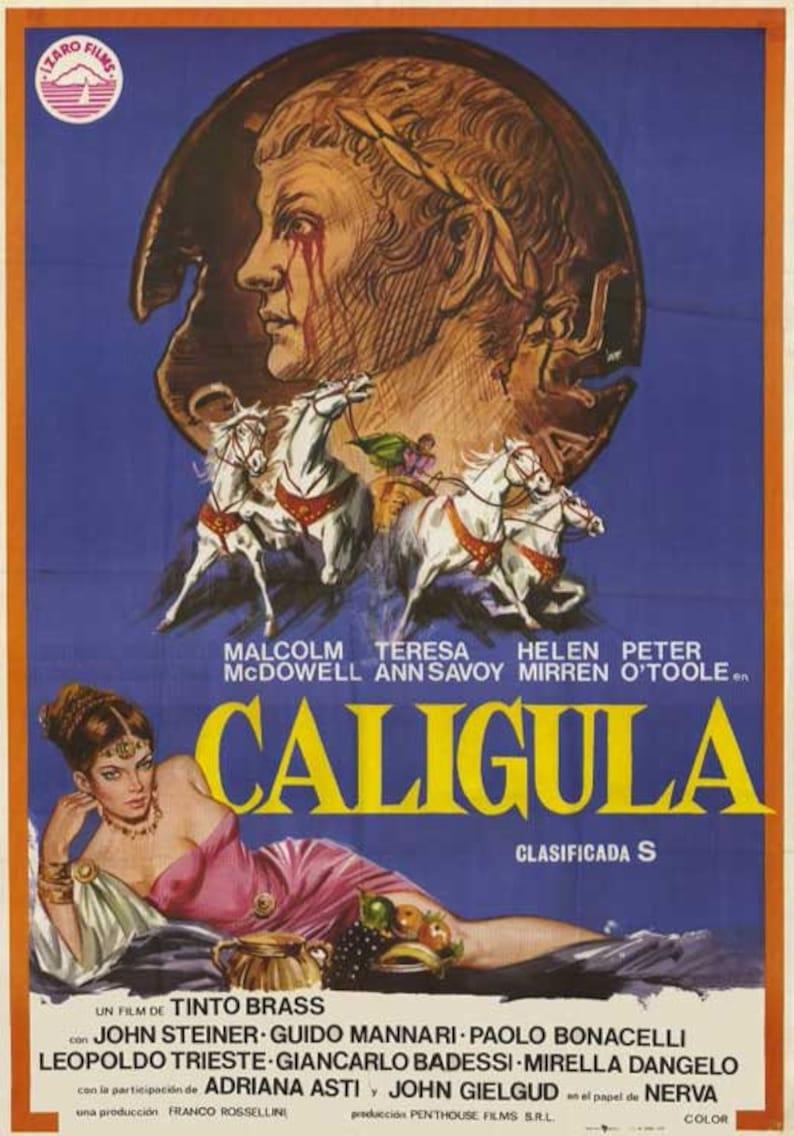 """Image result for caligula film poster"""""""