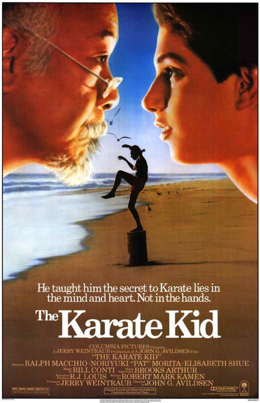 The Karate Kid 1984 Movie Poster 11 X 17 Ralph Macchio Etsy