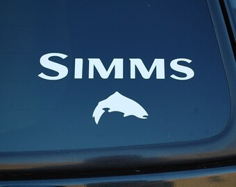 Tumbler Decal 3 Sizes Orvis Fly Fishing Decal Window Decals for Cars and Truck